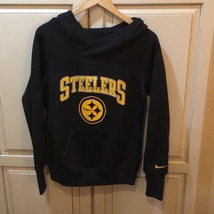 Nike Pittsburgh steelers nfl hoodie sweatshirt m